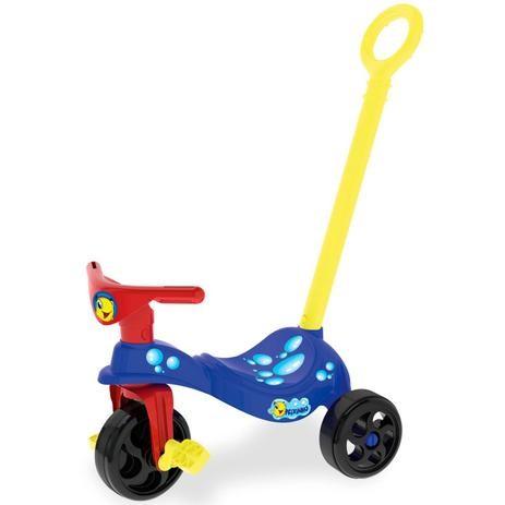 Triciclo-Peixinho-com-Empurrador-Xalingo