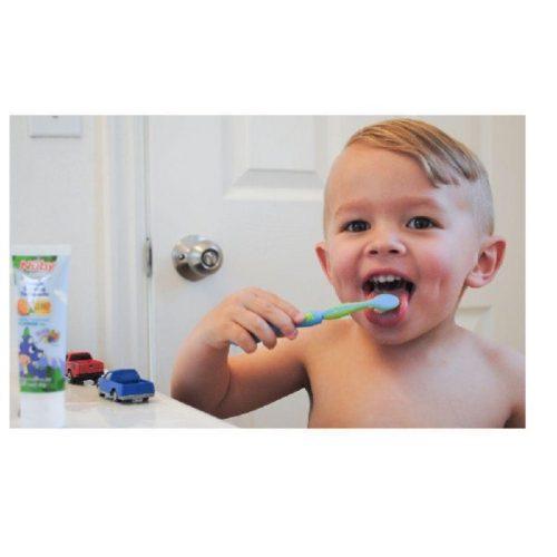 Kit-De-Cuidado-Oral-Escovas-3-Estágios-Rosa-Menina-Pop-Nuby