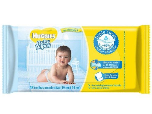 Toalha-Umedecida-Huggies-Baby-Wipes