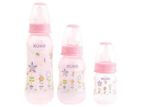 Kit-Mamadeira-Natural-Color-Rosa-com-3-Unidades---Kuka