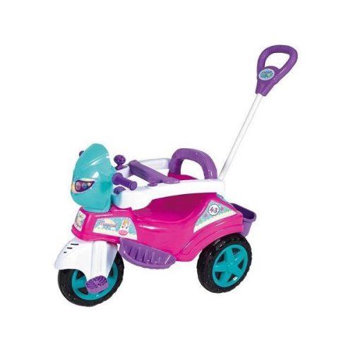 Triciclo-Infantil-Baby-City-Menina-com-Empurrador
